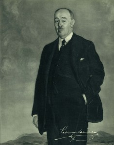 Pablo Garnica Echevarría (1876-1959), presidente de la entidad durante los años de mayor esplendor.
