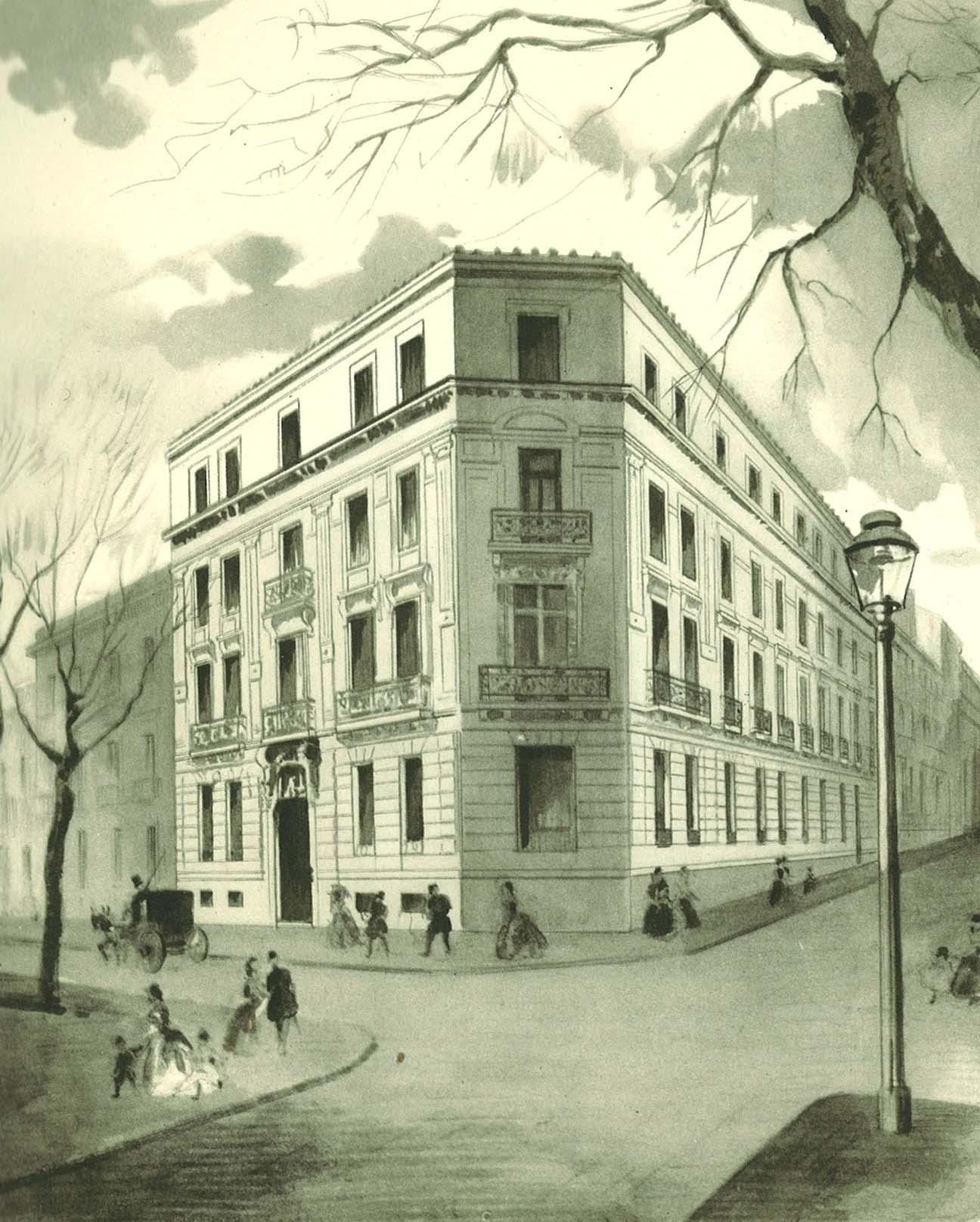 El banco espa ol de cr dito i los or genes 1856 1902 for Banco santander sucursales barcelona